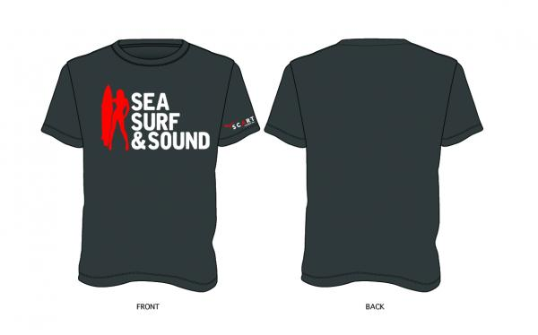 T-Shirt Surf - Grey